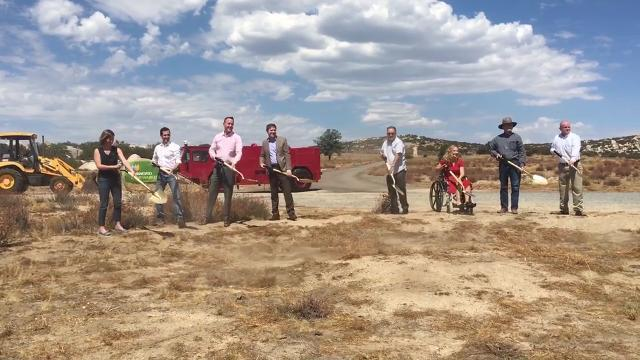 Groundbreaking for Tule Wind Project