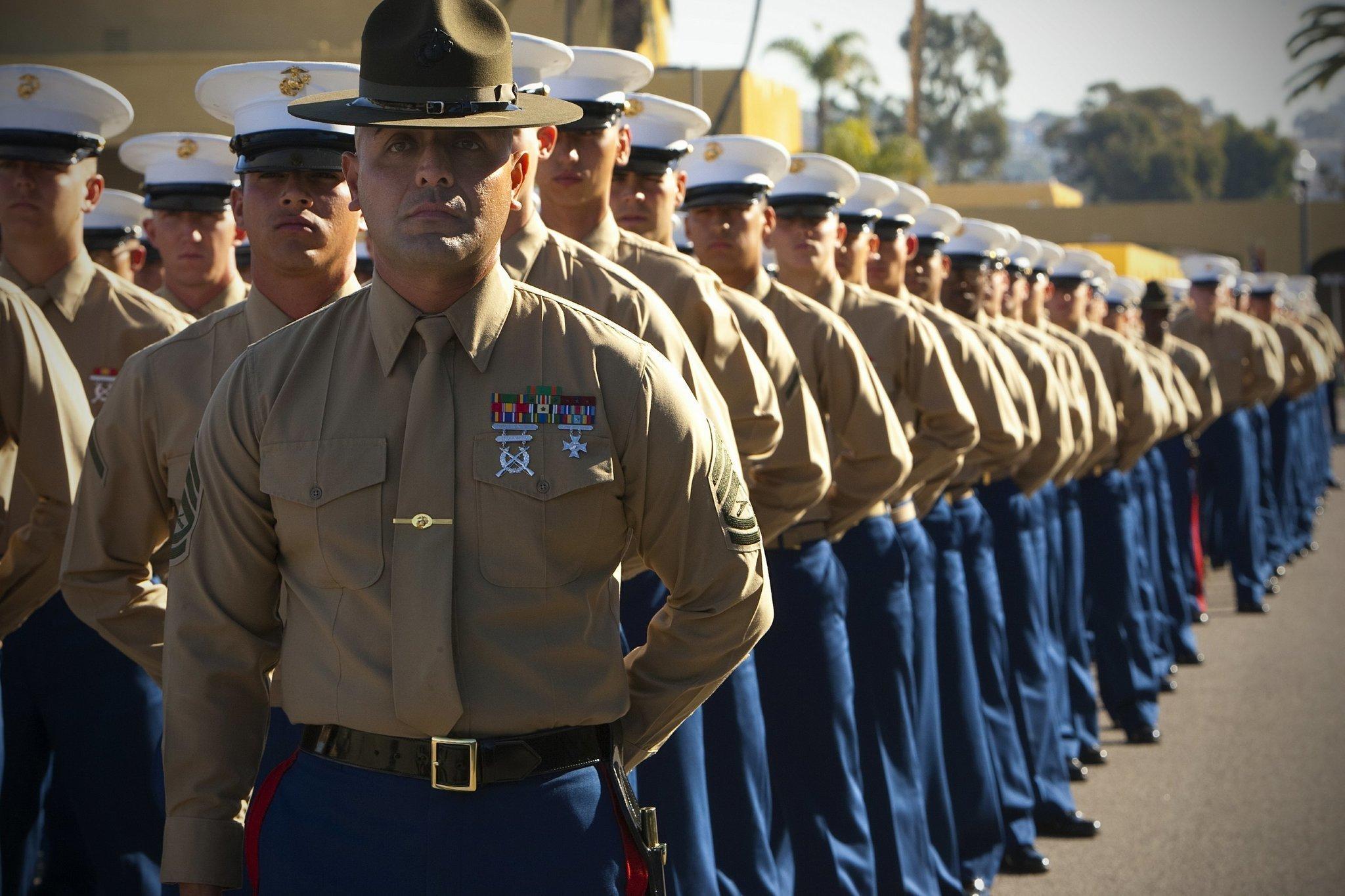 Marines, Army more than meet their recruiting goals - The