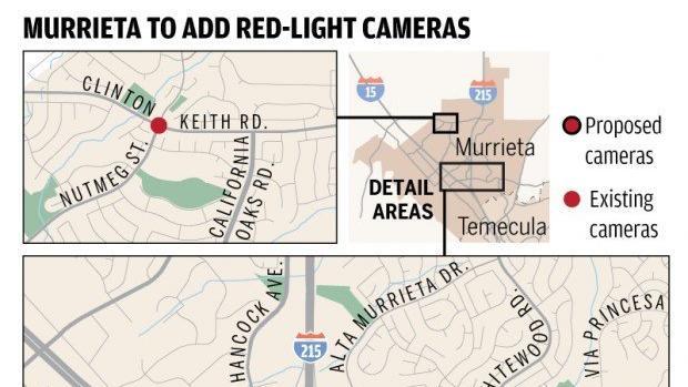 Murrieta More Red Light Cameras Coming The San Diego Union Tribune