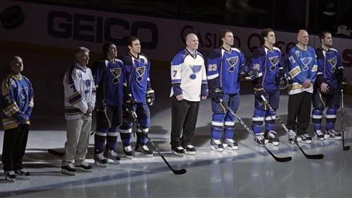 Blues beat Blue Jackets 5-4 in shootout - The San Diego Union-Tribune