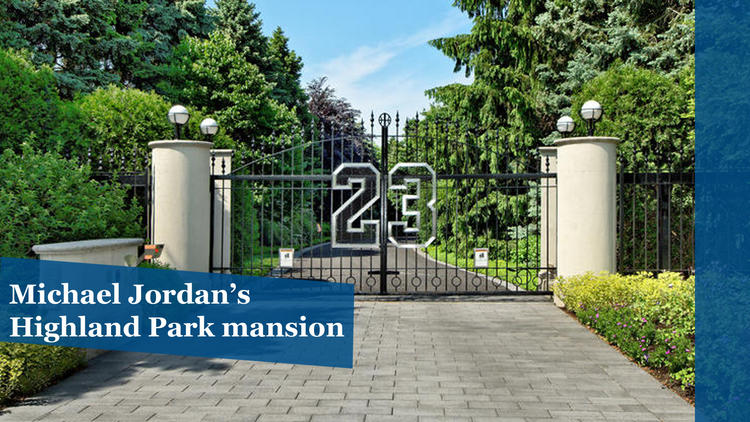 Michael Jordan's mansion up for auction
