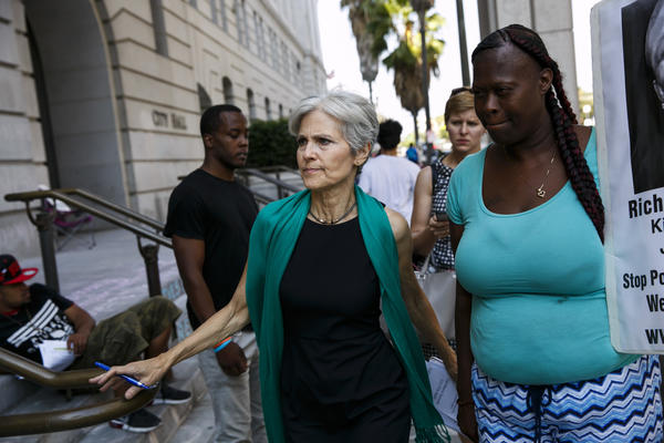 Jill Stein. (Marcus Yam / Los Angeles Times)