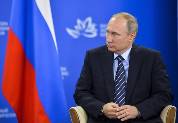 Russian President Vladimir Putin (Alexei Druzhinin / Associated Press)