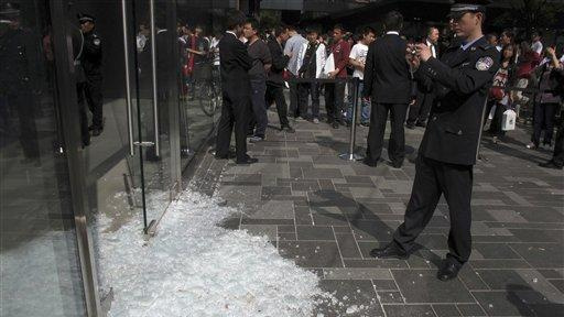 Scuffle At Apple Store Phone Launch In Beijing The San Diego Union