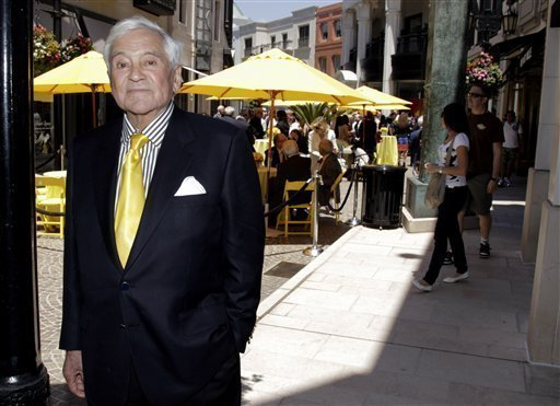 Honors for Fred Hayman, the father of Rodeo Drive