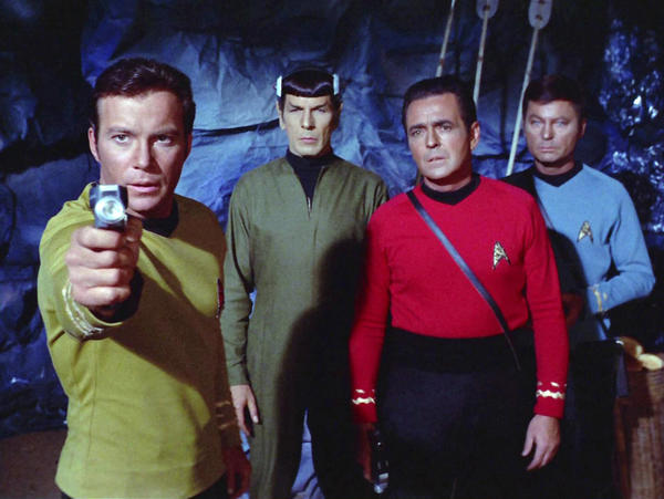 "The original TV ""Star Trek"" series occasionally dipped into the music of its time. (CBS via Getty Images)"