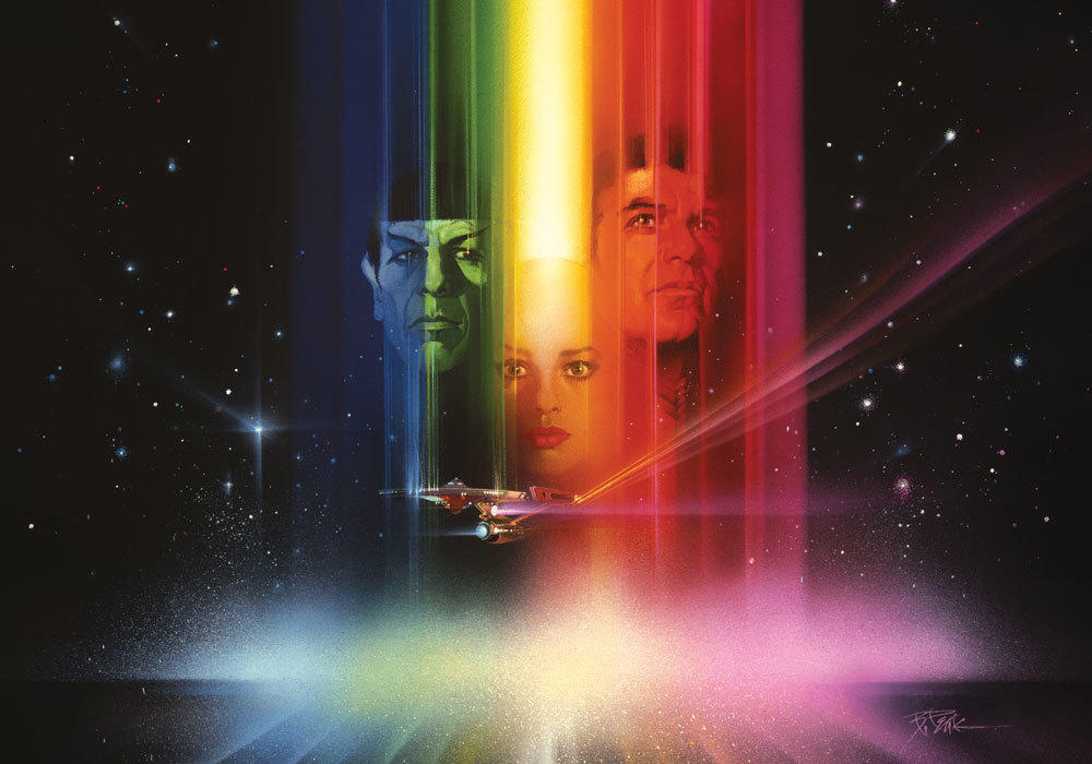 "Image from the poster for ""Star Trek: The Movie"" (1979) (Paramount Pictures)"