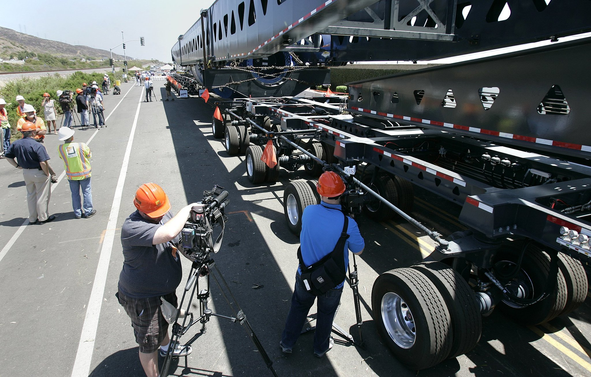 Nuclear steam generators hit the road The San Diego Union Tribune