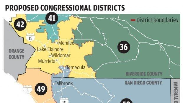 TEMECULA City officials not happy with Assembly congressional