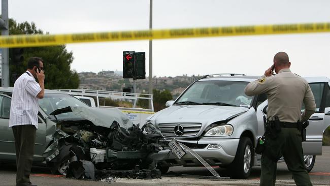 Carlsbad Deputy Recovering After Three Car Crash The San Diego