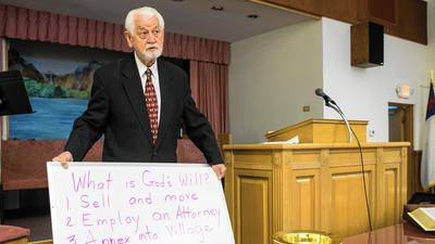Church ponders joining Tinley in light of county violation notice