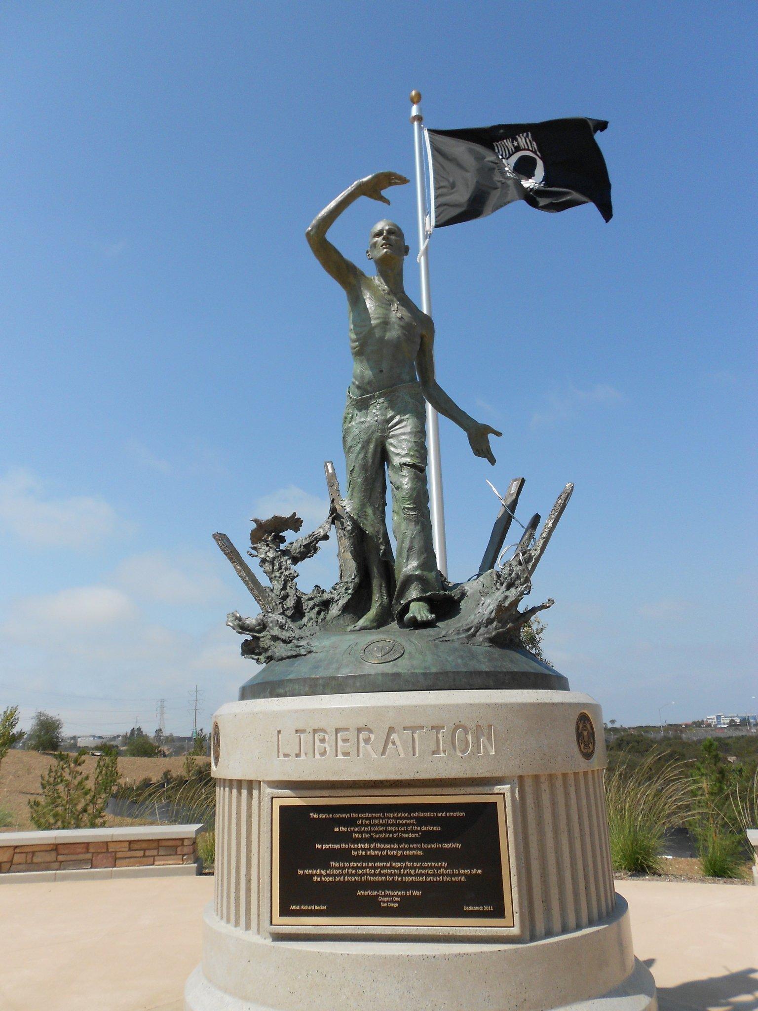 Pow Statue Debuts At Miramar Cemetery The San Diego