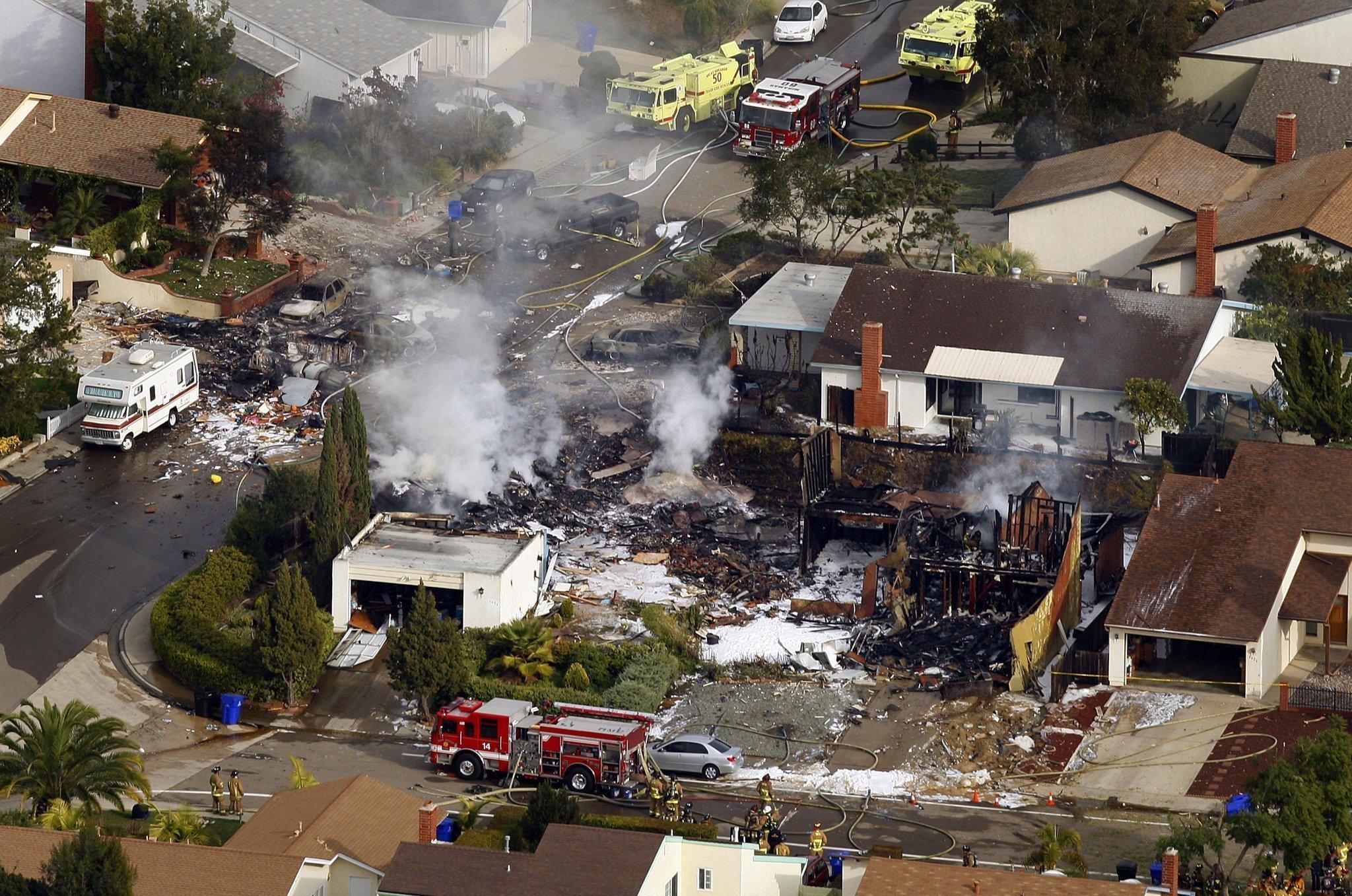 San Diego Law School >> Decades separate tragic San Diego jet crashes - The San ...