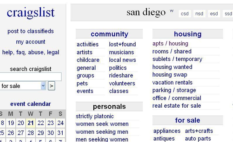 6 ways to avoid craigslist rental scammers the san diego union tribune. Black Bedroom Furniture Sets. Home Design Ideas