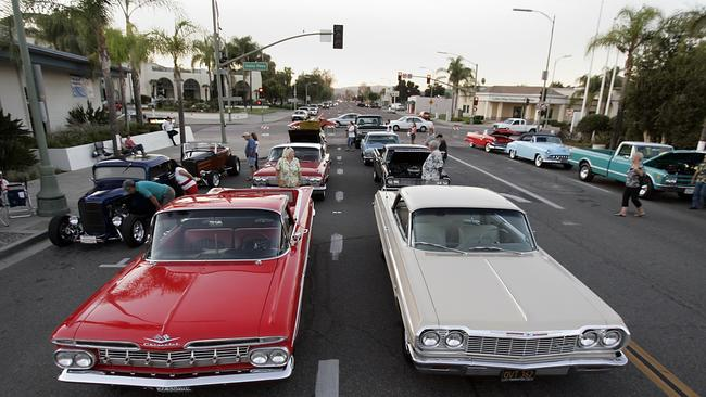Vintage Cars Return For Downtown Cruise The San Diego UnionTribune - Classic car cruise