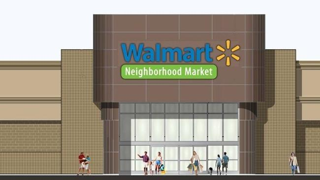 Walmarts Design Rendering For The Retailers Future La Mesa Grocery Store Known As A Neighborhood