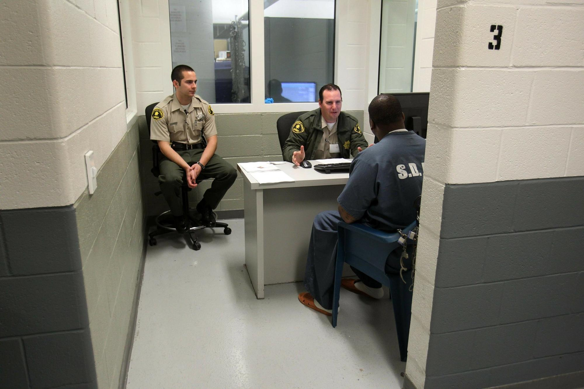 County sheriff's deputies have more inmates to monitor under a state law that gave local authorities more responsibility for lower-level criminals to ease crowding in state priso
