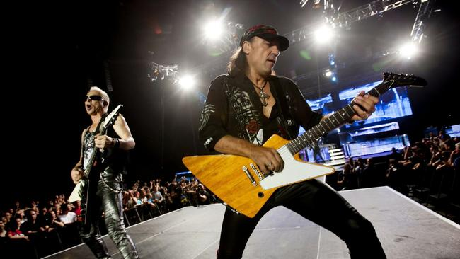 The Scorpions to rock out one last time - The San Diego Union-Tribune