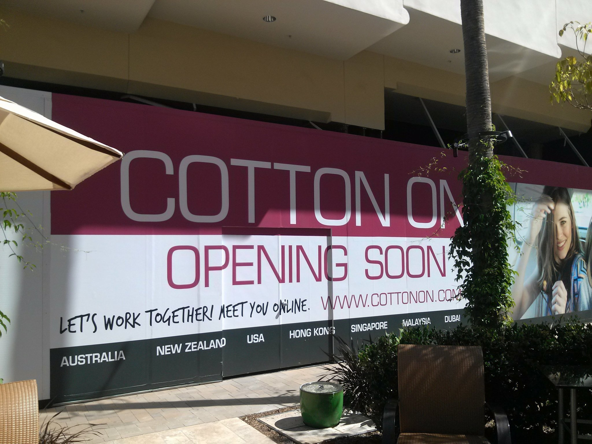 fashion valley u0026 39 s new stores  cotton on and more