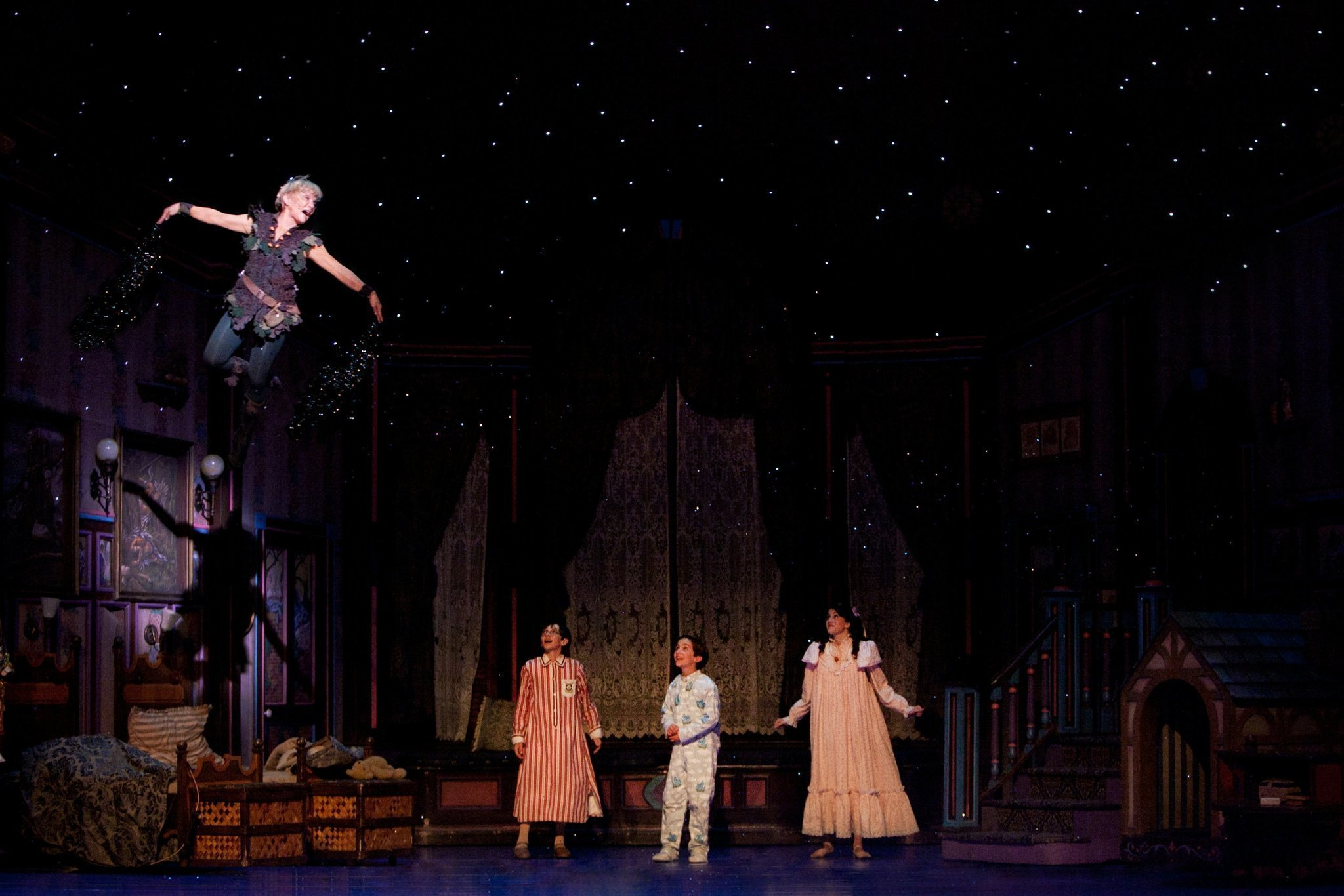 Play Review Peter Pan Still Hooks Em The San Diego