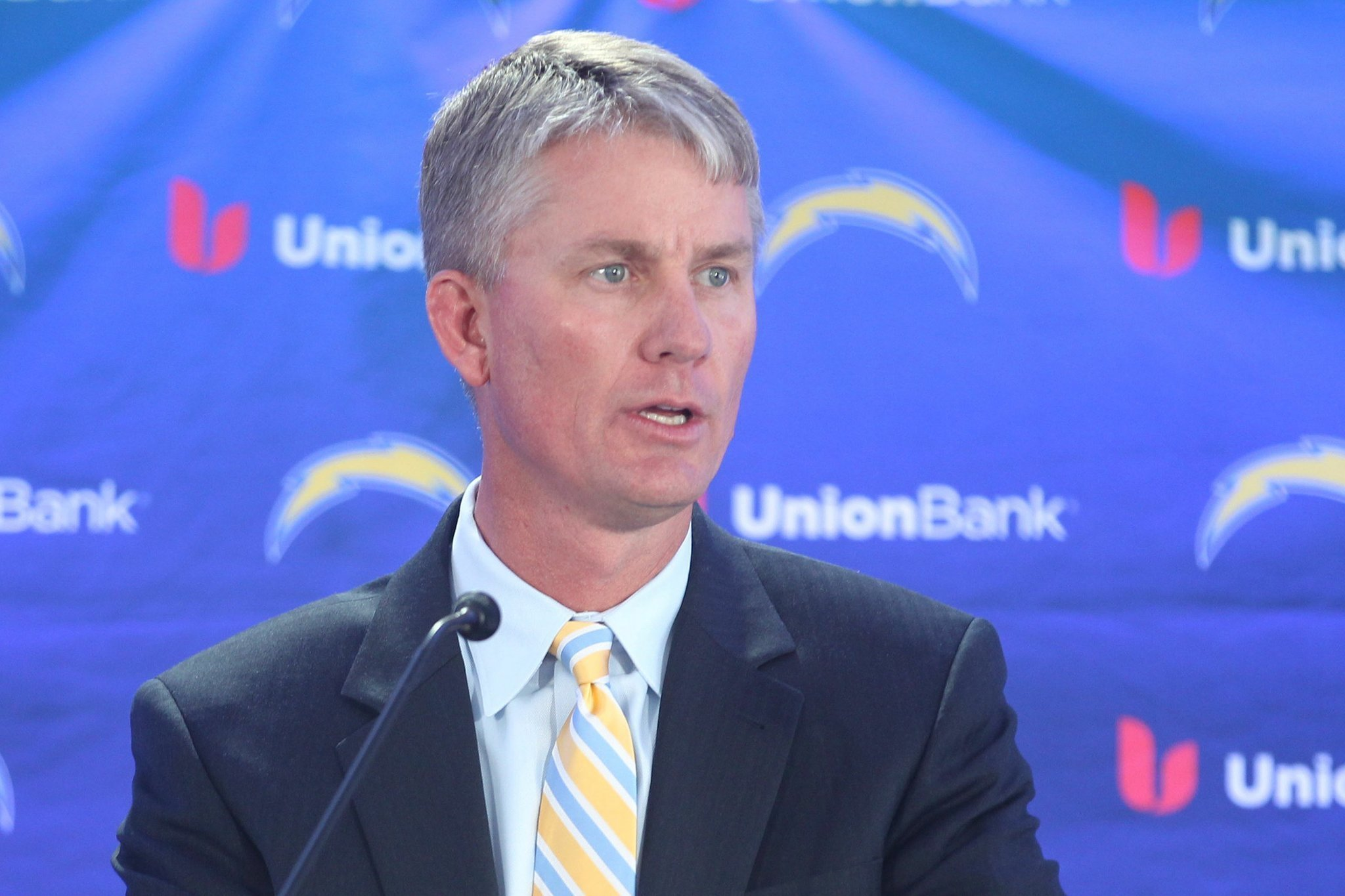 Mike Mccoy New Chargers Head Coach The San Diego Union