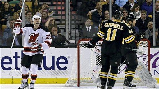 3cd92ae70 Bruins top Devils 2-1 on Marchand s shootout goal - The San Diego ...