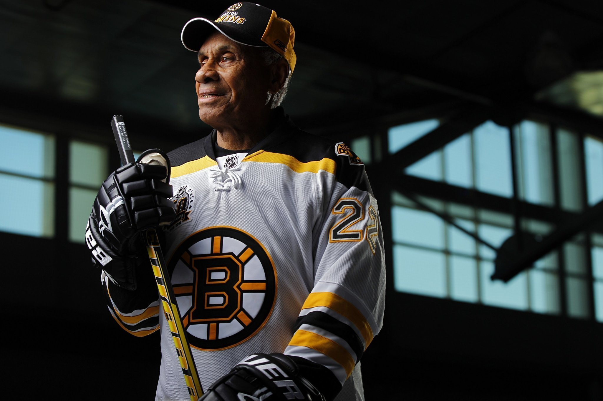 Canadian upbringing helped NHL's O'Ree fight color barrier ...