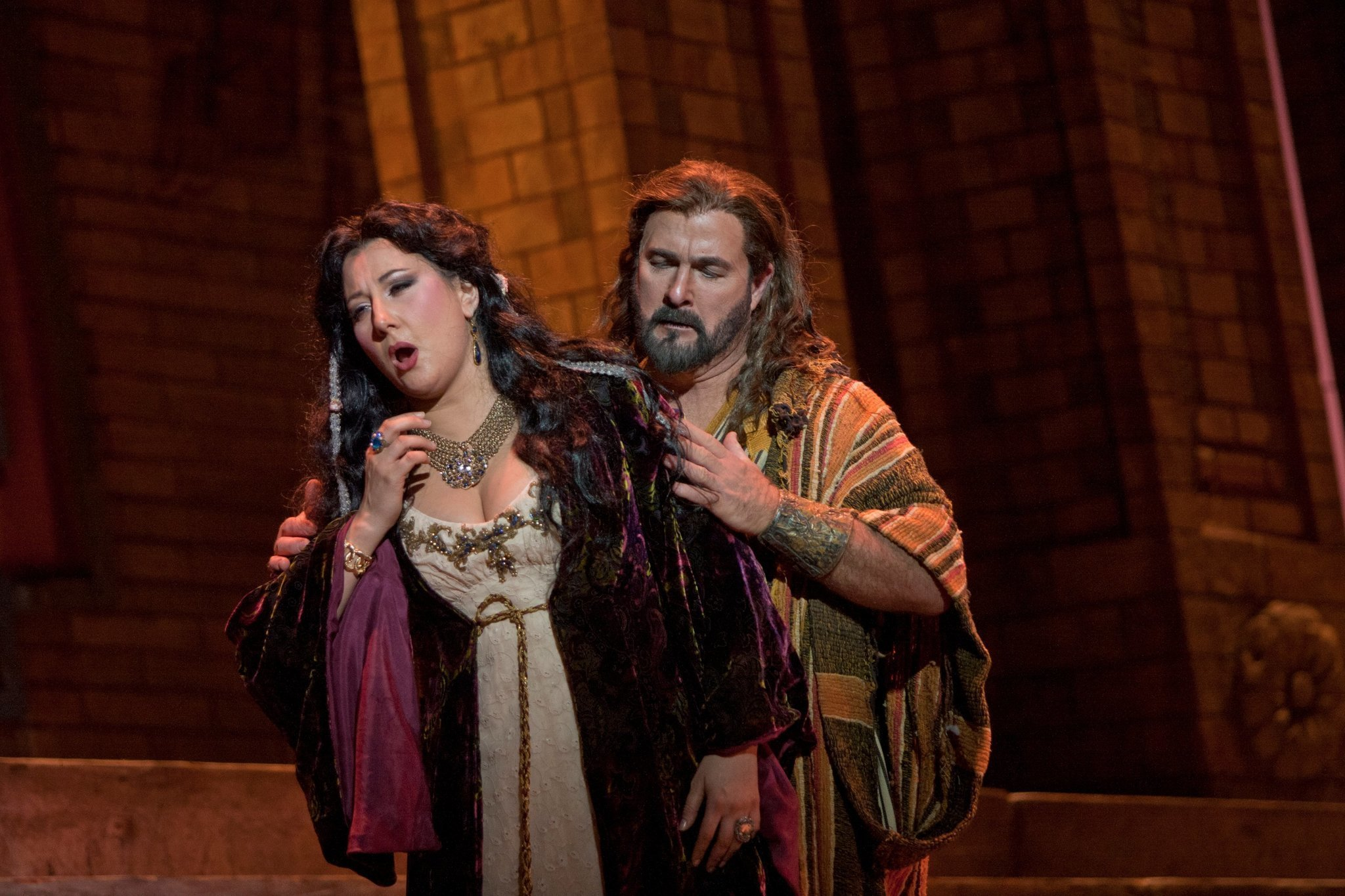 samson and delilah u0027 solid at civic the san diego union tribune
