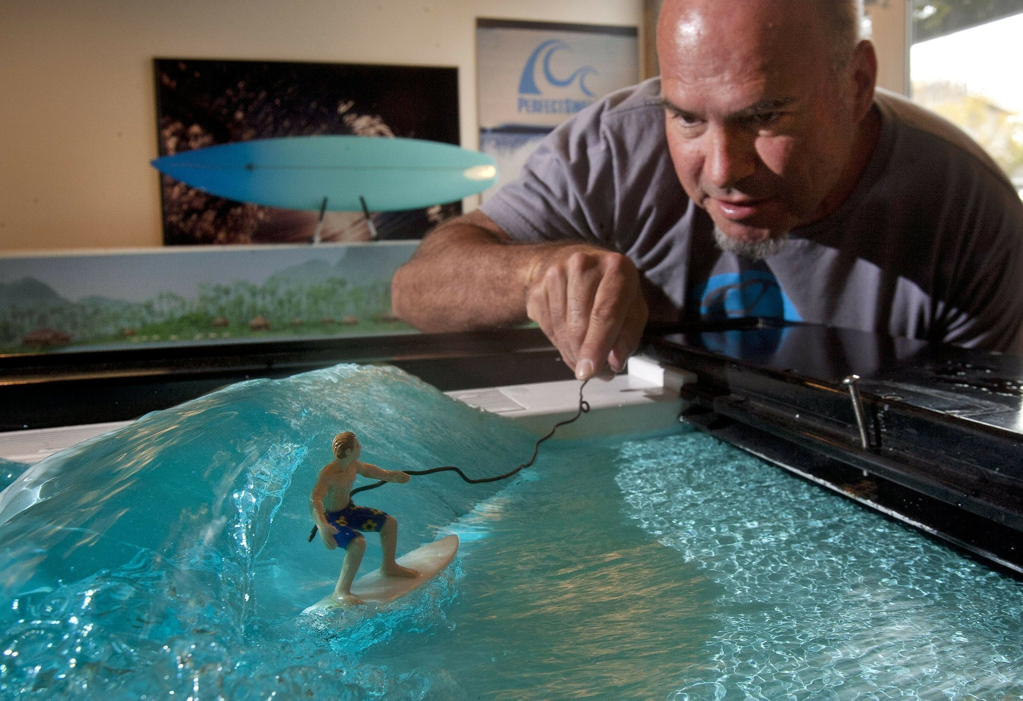 Local Company Debuts Its Largest Wave Machine In U S The San Diego Union Tribune