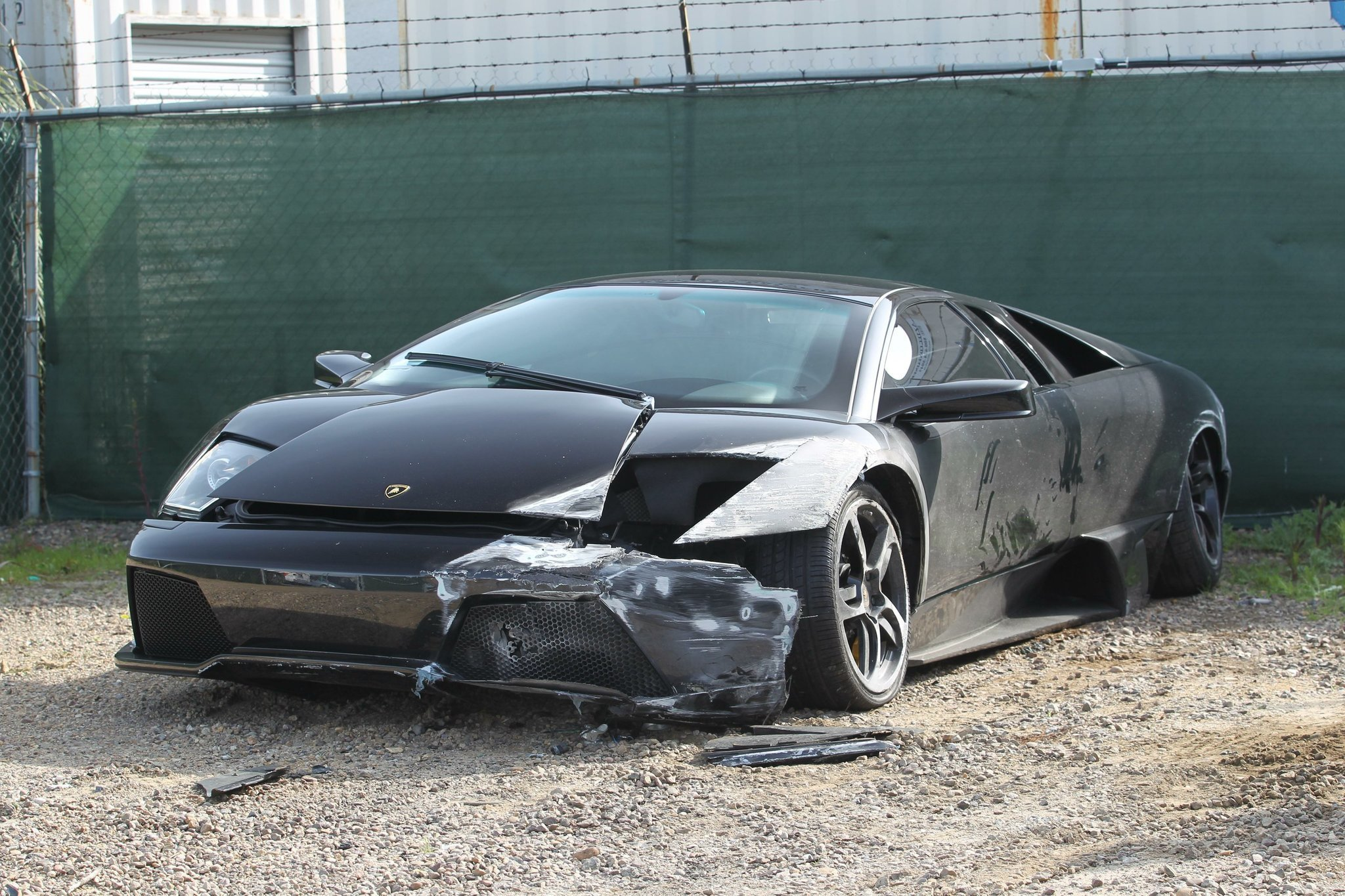 Crashed Lamborghini Still Not Claimed The San Diego