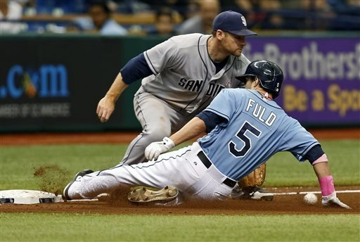 Padres discuss hard fouls into stands
