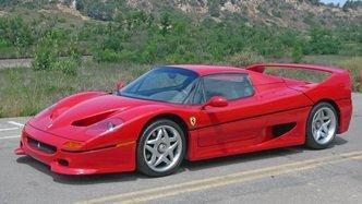 Rare 1995 Ferrari F50, Once Crashed By An FBI Agent, Is For Sale In