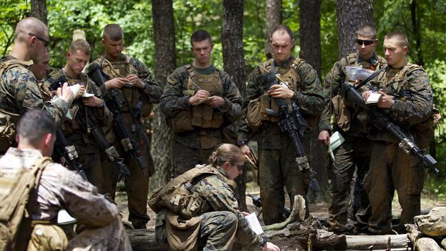 marine infantry officer course