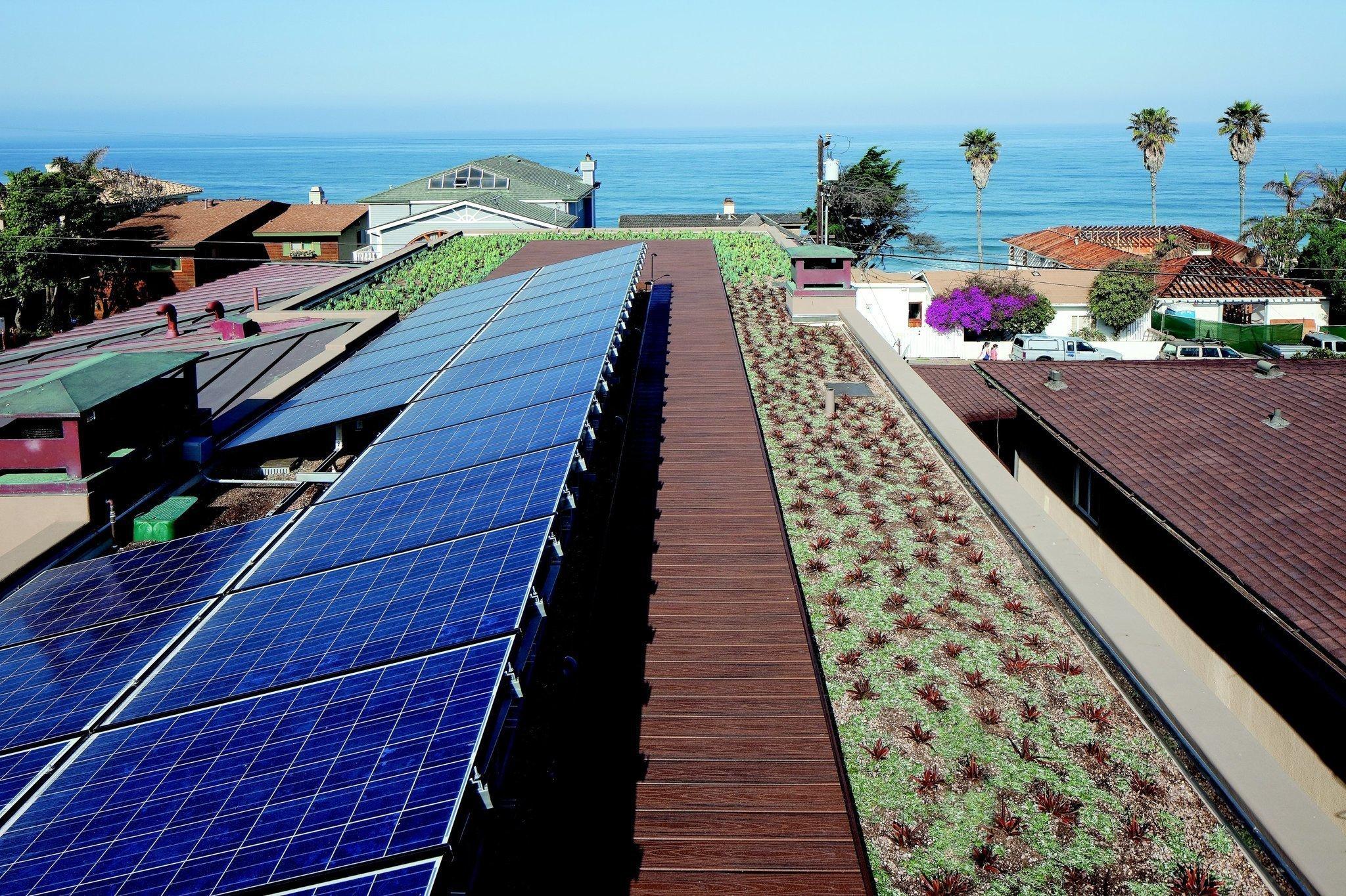 Solar Dilemma  Wash Rooftop Panels