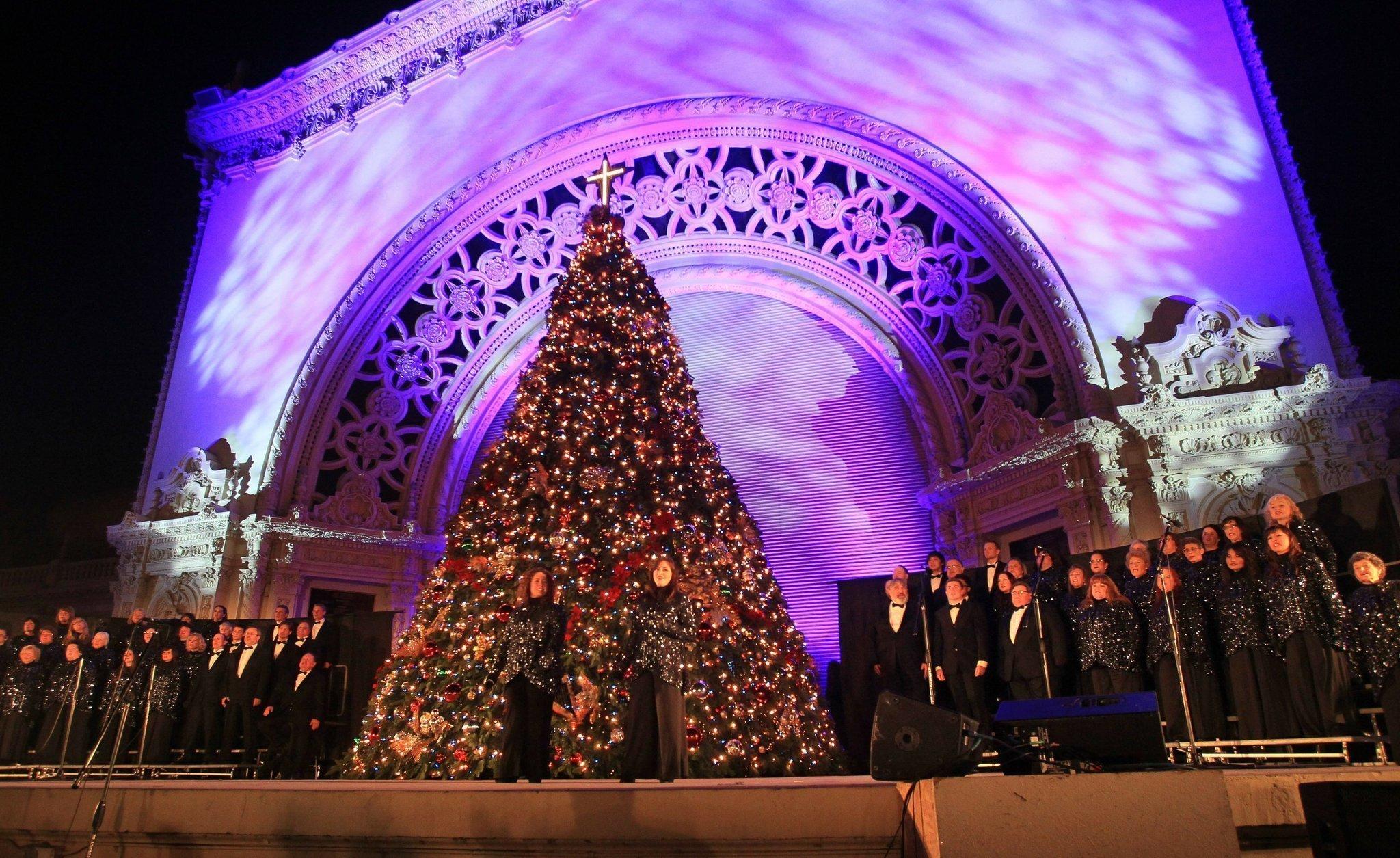 december nights to light up balboa park the san diego union tribune - Balboa Park Christmas Lights