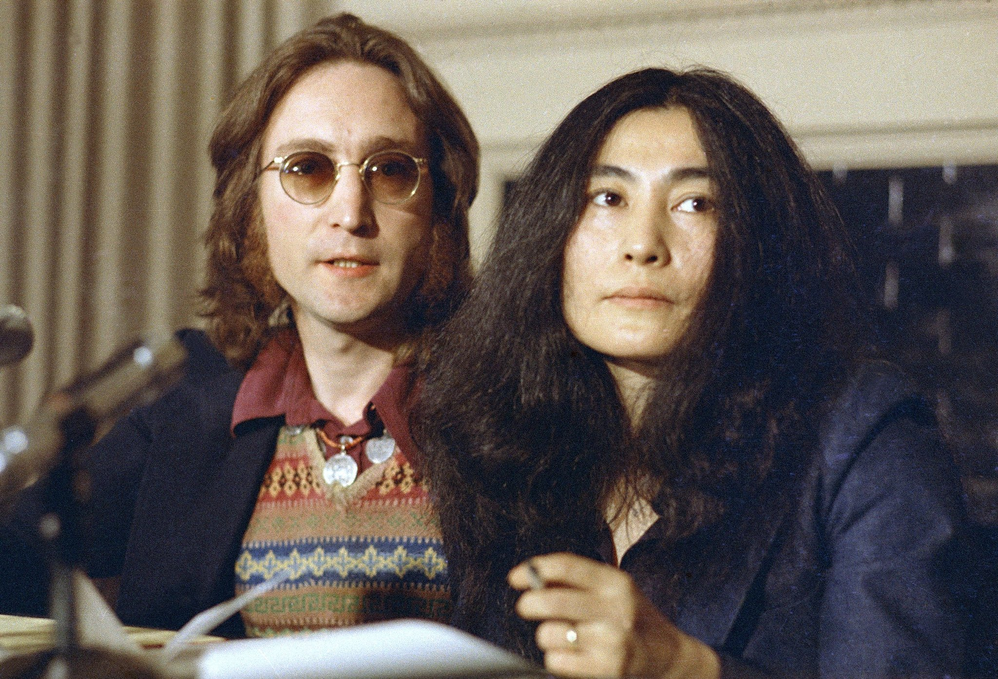 Yoko Ono Discusses John Lennons Art