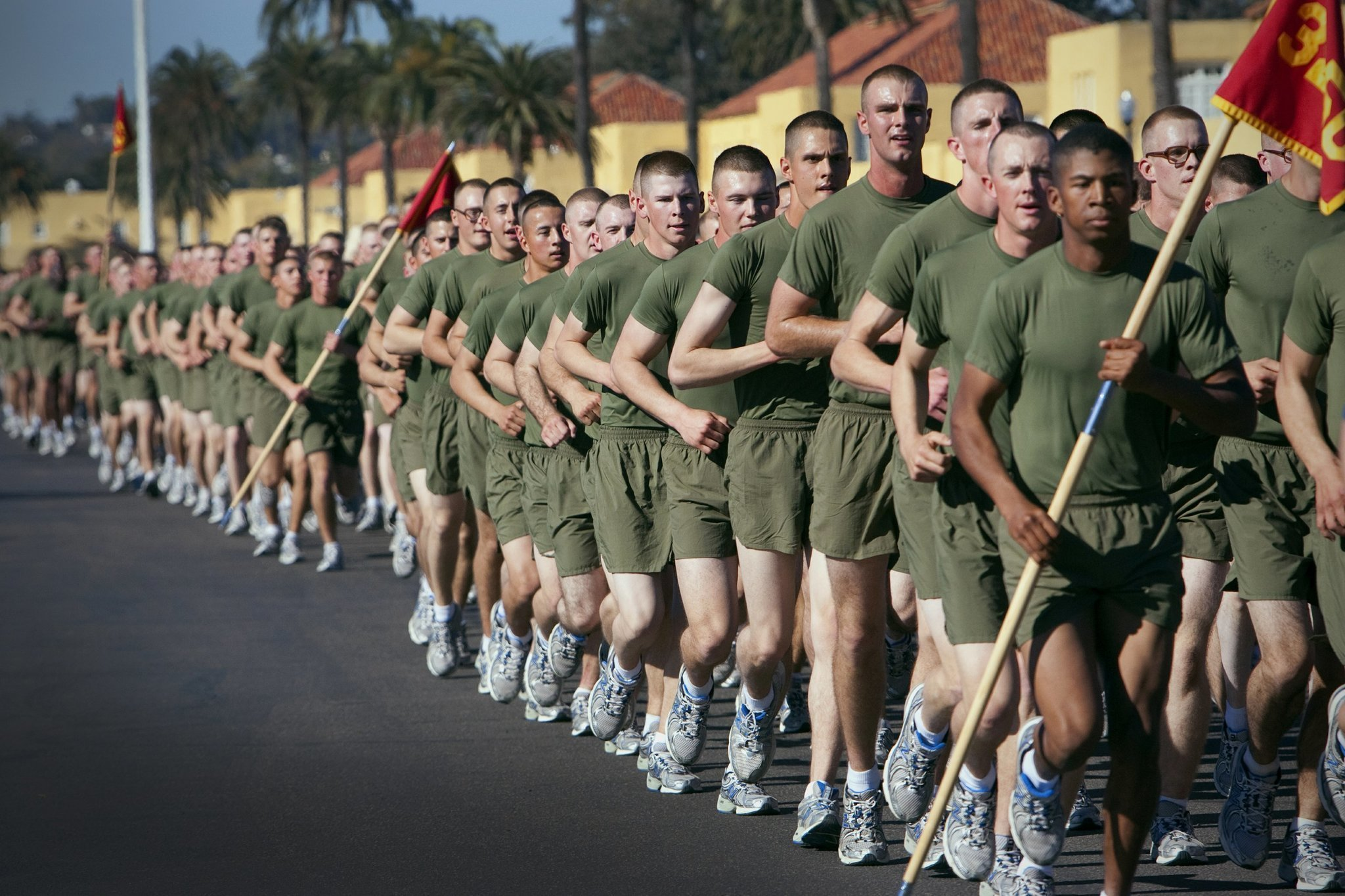 Marine Recruit Treated For Meningitis The San Diego