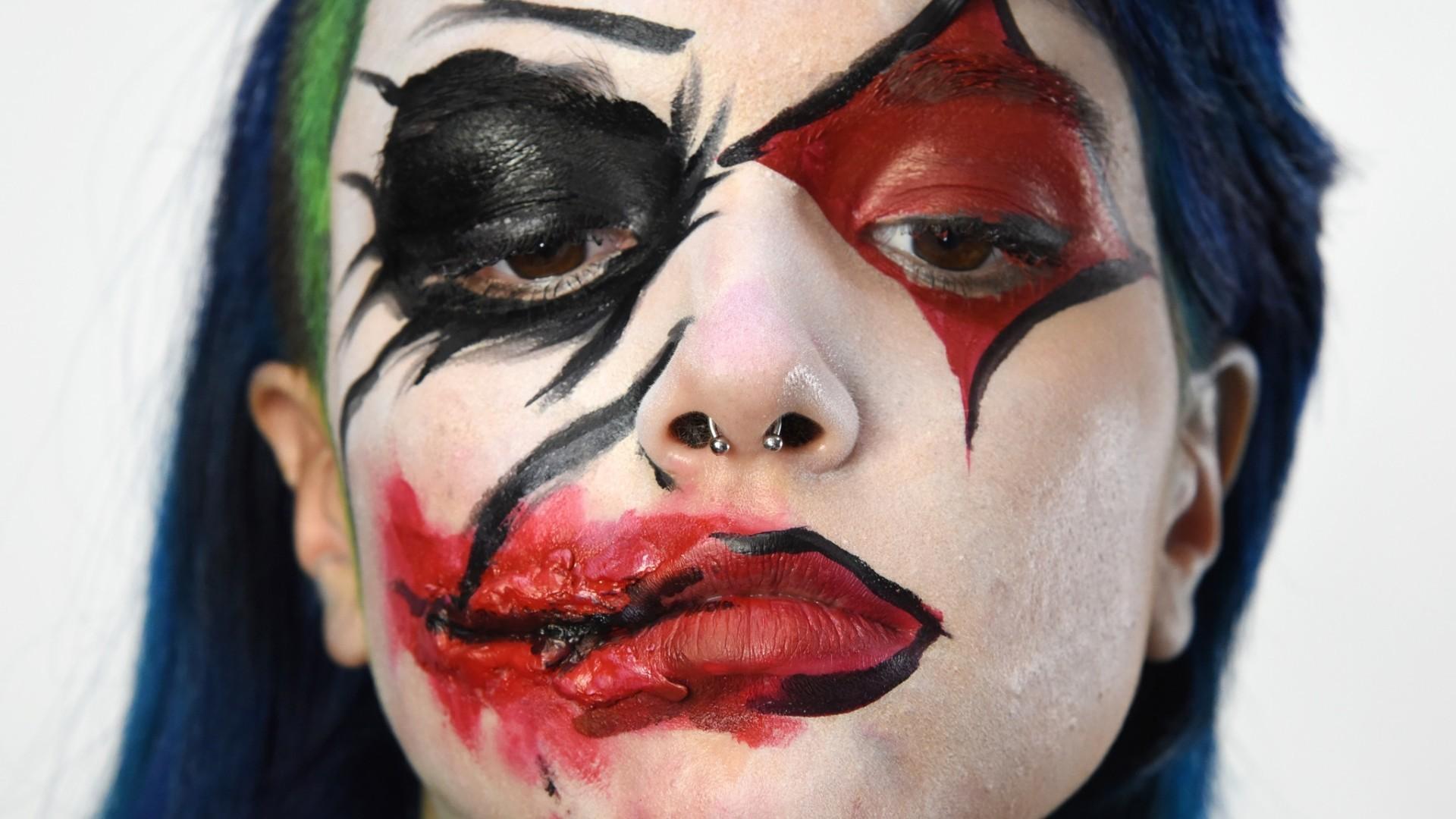 diy halloween makeup: joker/harley quinn - baltimore sun