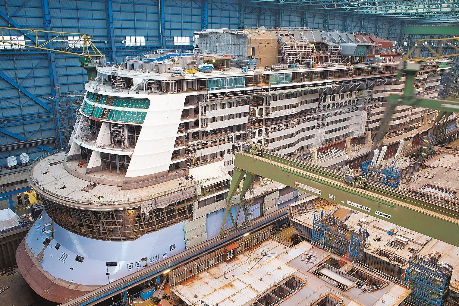 Quantum Of The Seas Construction Progress
