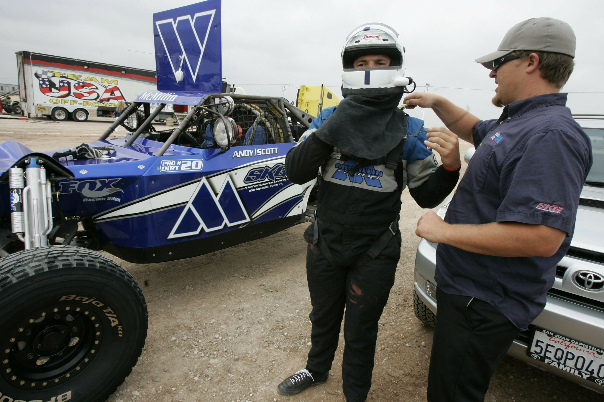 McMillin perseveres at Imperial Valley 250 The San Diego Union Tribune