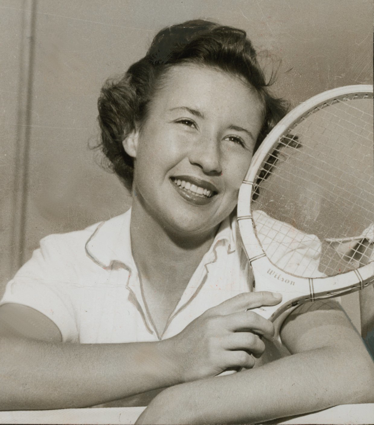 Little Mo was queen of the court The San Diego Union Tribune