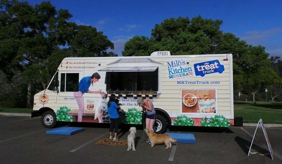 Milo S Kitchen Treat Truck