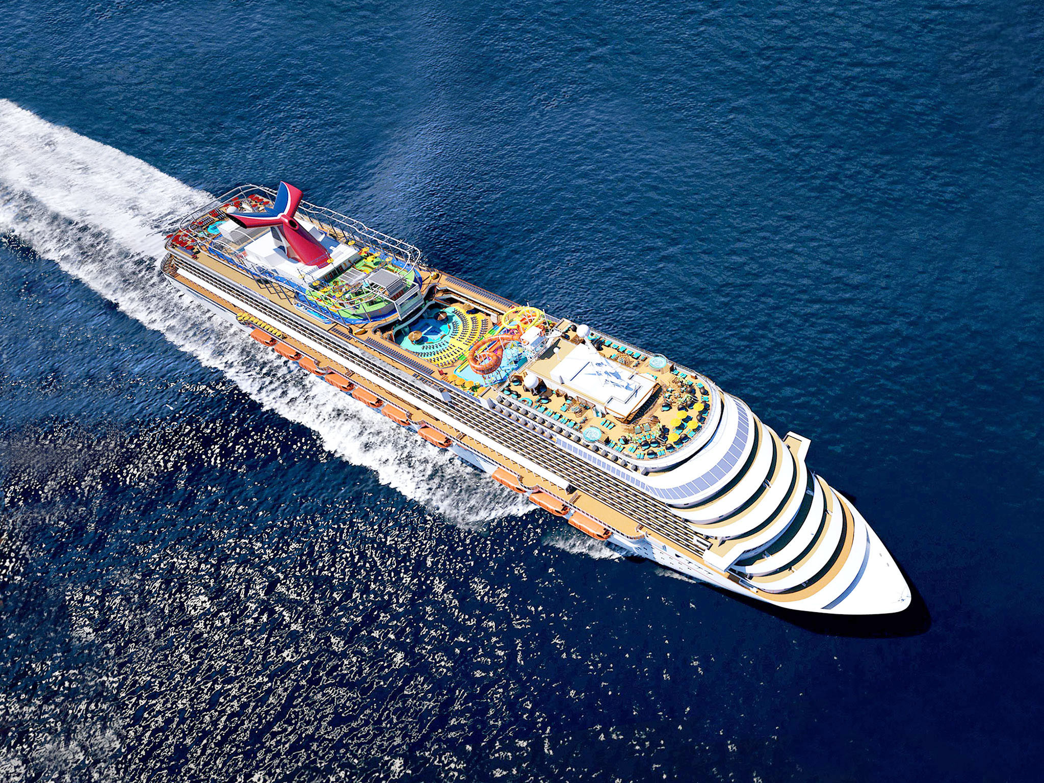 Carnival Cruise Line To Build Two New Giant Ships Orlando Sentinel - How long is the carnival cruise ship