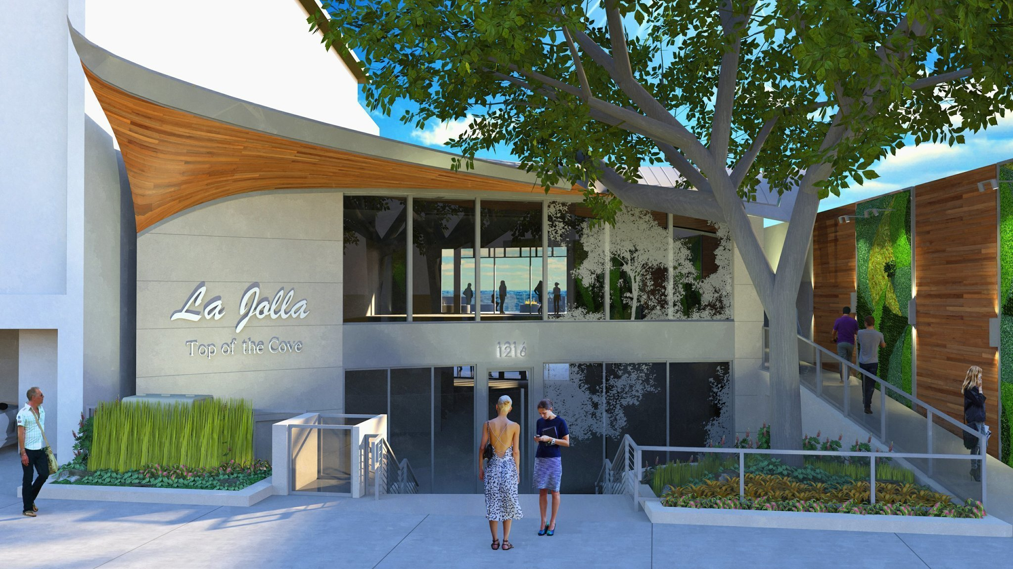 Top of the cove will be empty no more the san diego for Fish restaurant la jolla