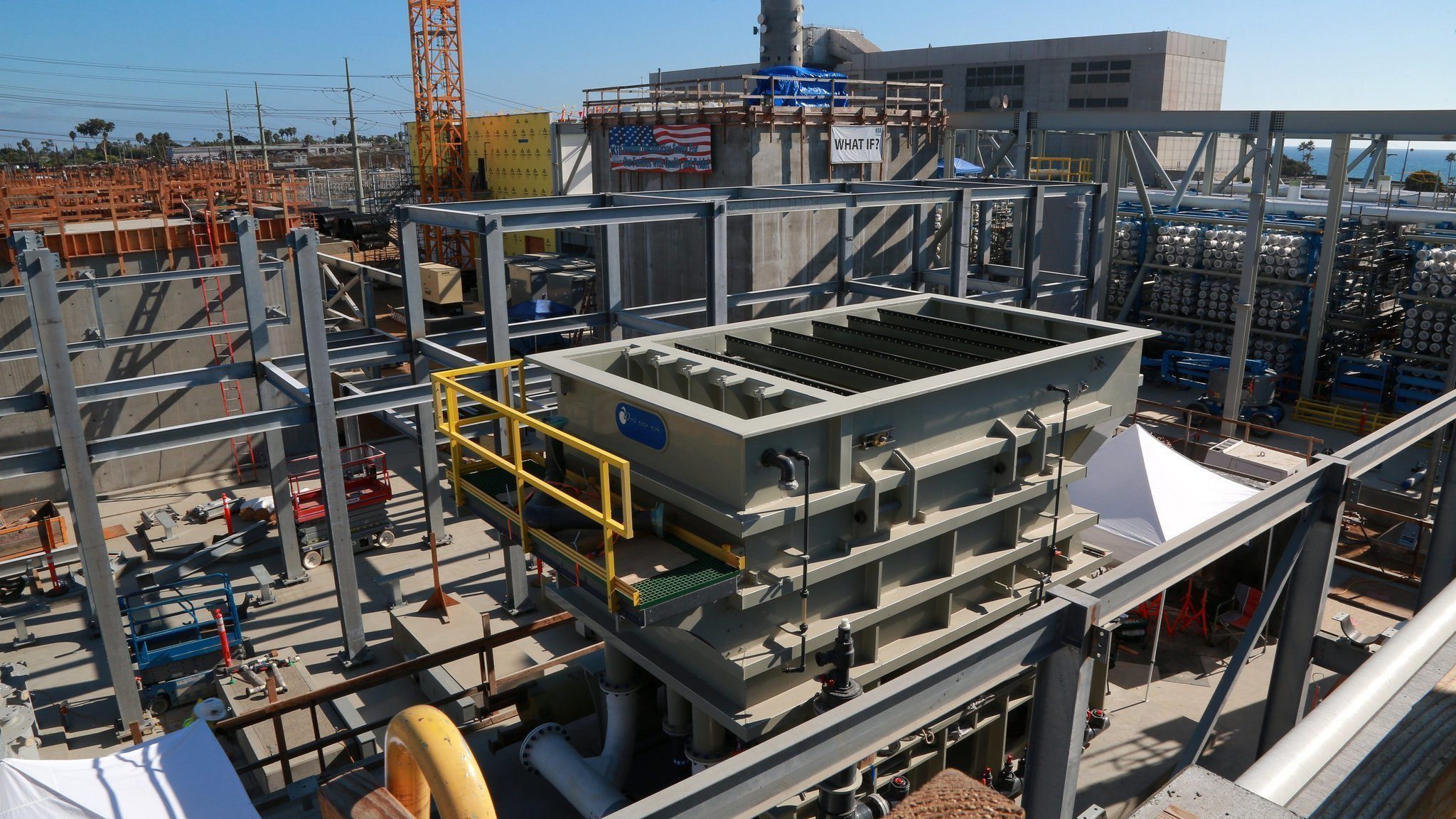 The Poseidon desal plant in Carlsbad will deliver new water to San