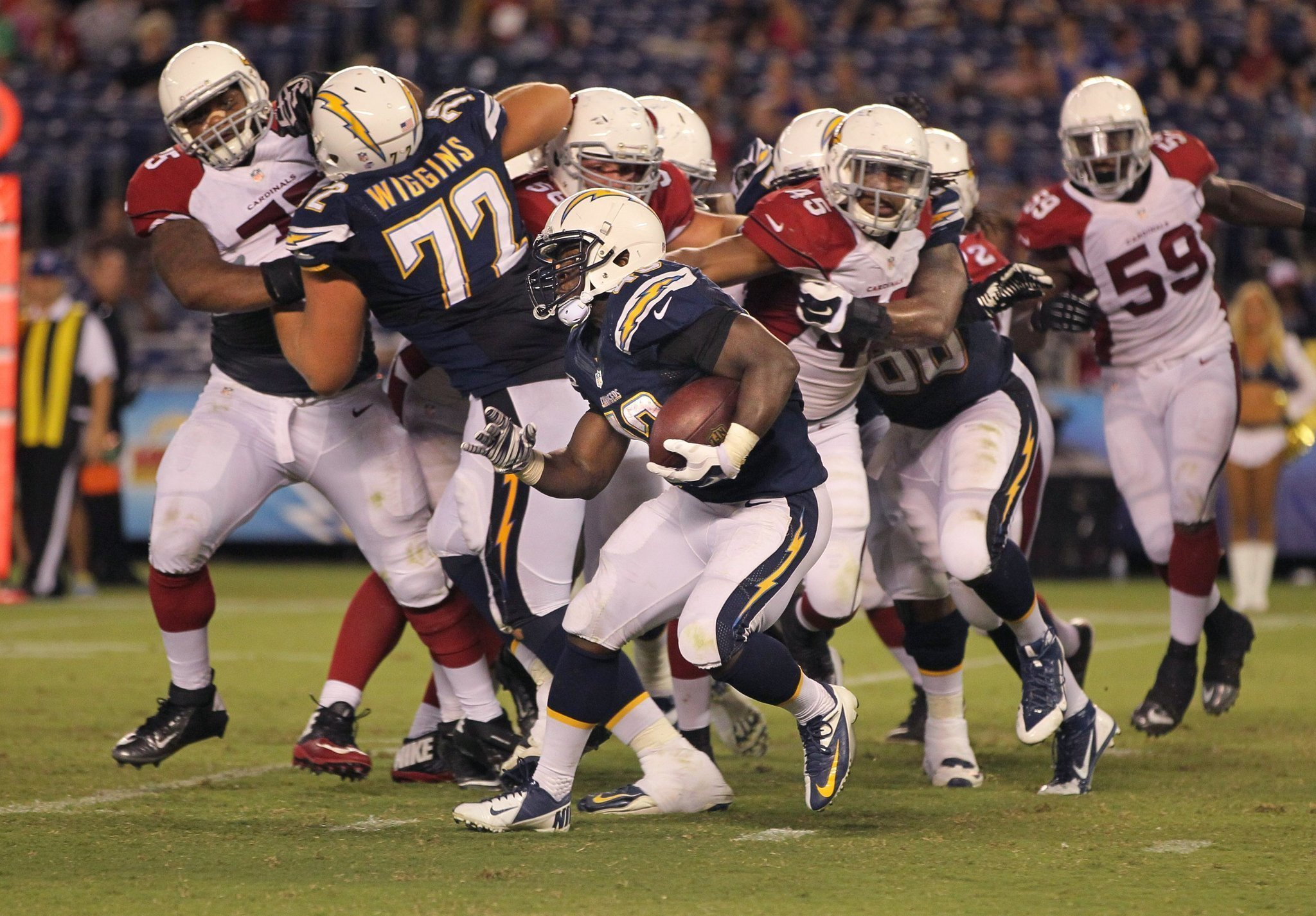 Chargers Set 53 Man Roster Keep 5 Rbs The San Diego