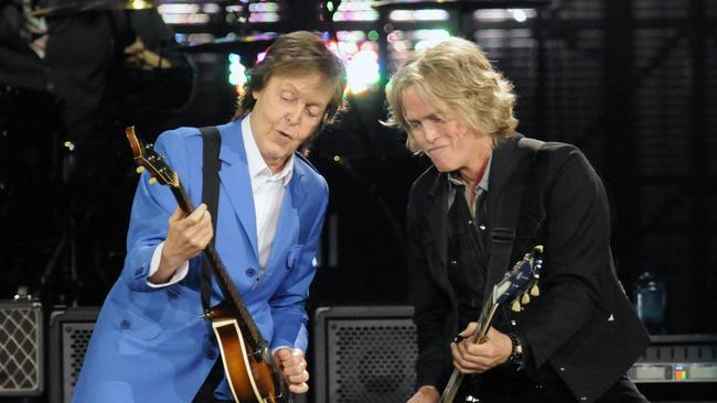 Paul McCartney Guitarist Brian Rays Dream Gig
