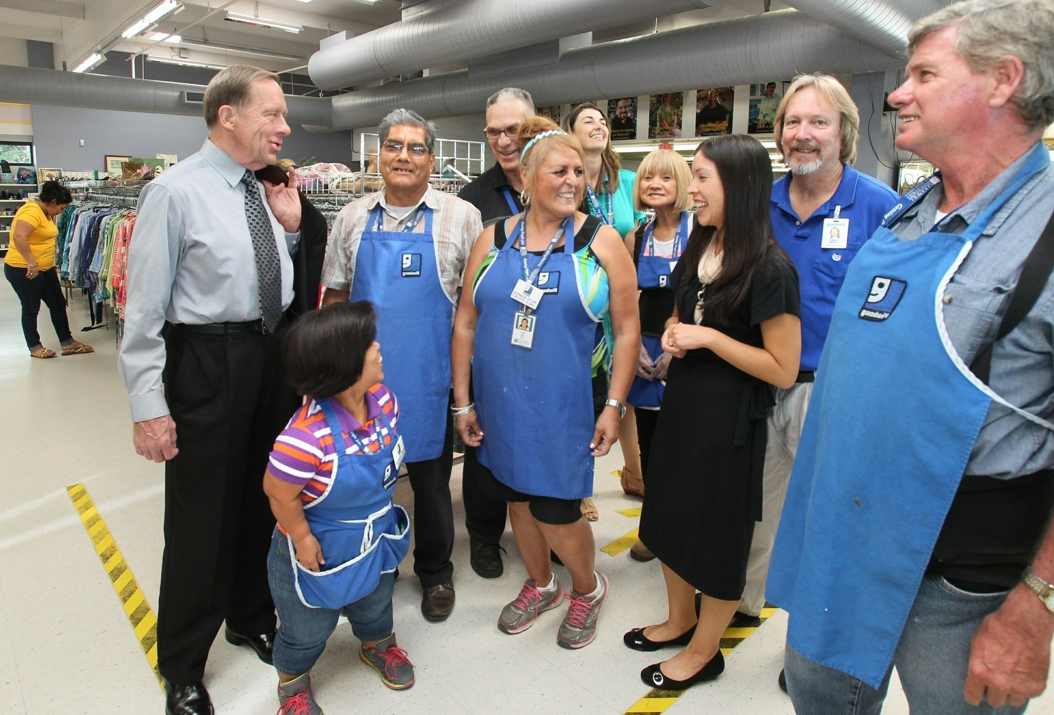 San diego top workplaces goodwill industries the san for Michaels crafts job application