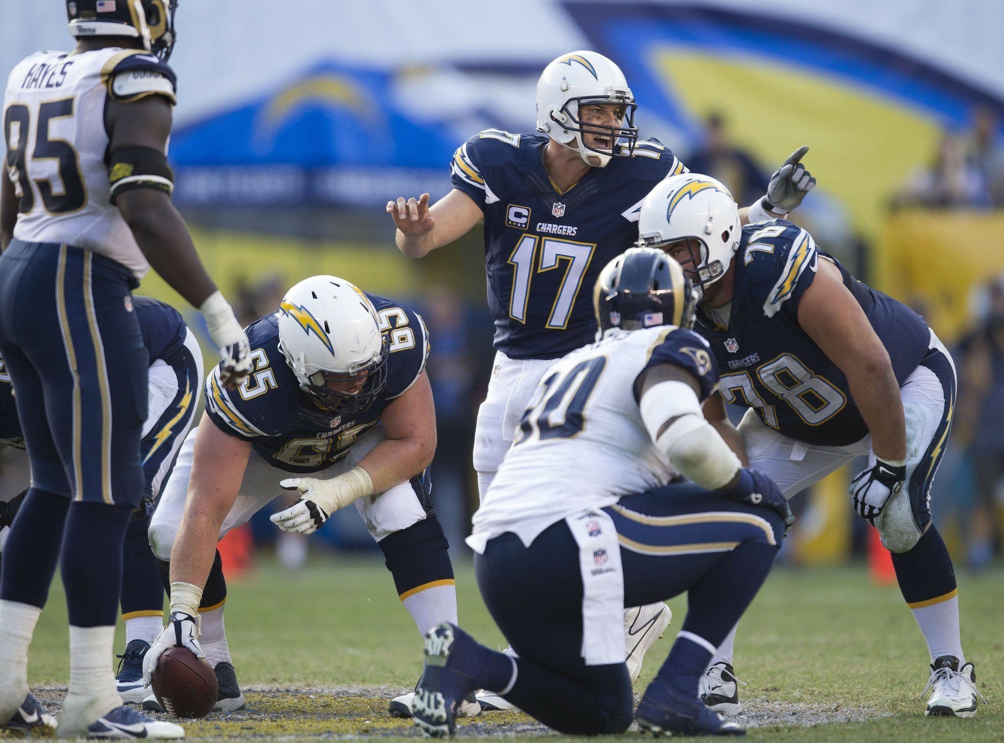 Rivers Is Chargers Top Key To 5 Game Test The San Diego