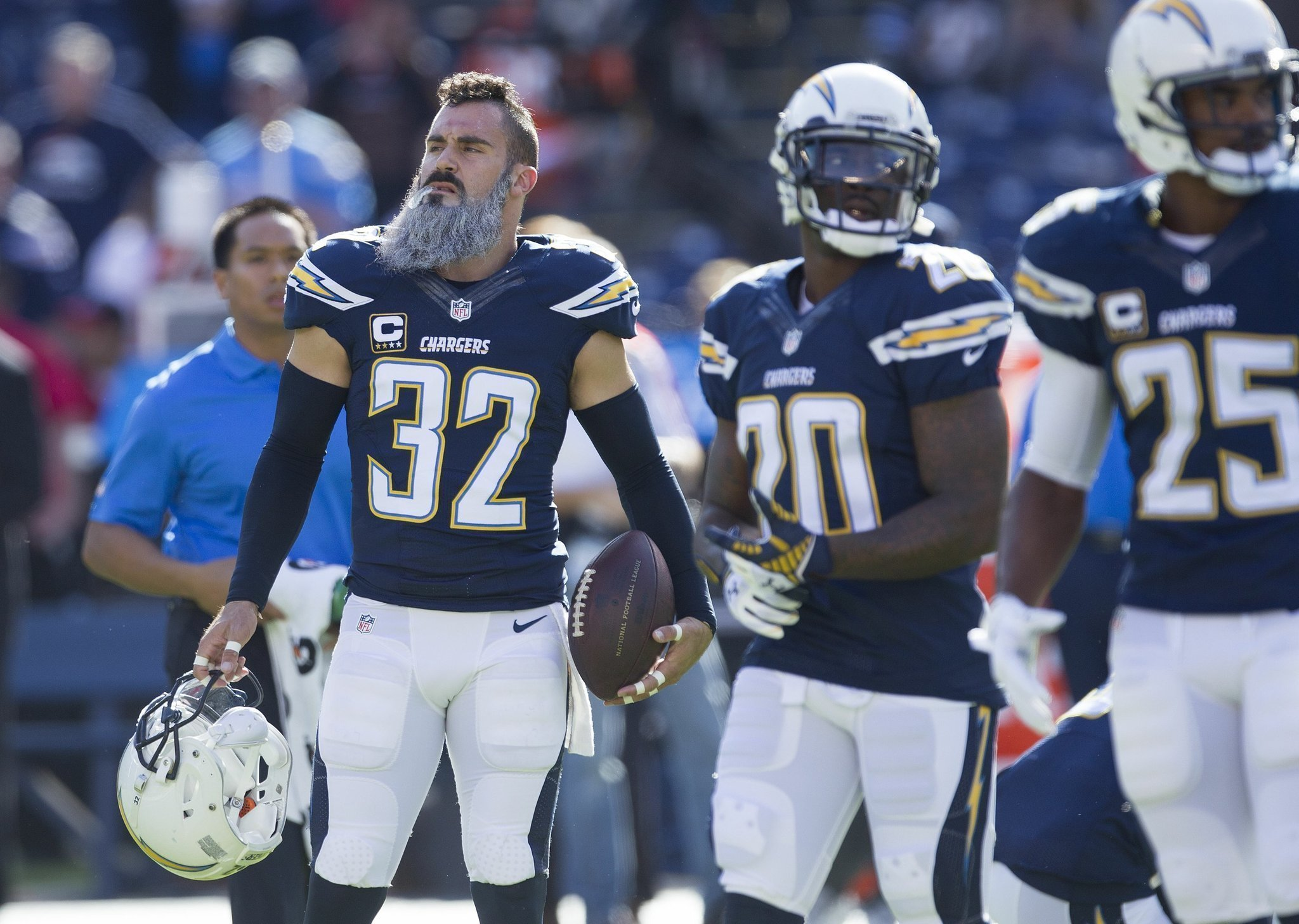 Chargers Safety Eric Weddle A Pro Bowler Again The San